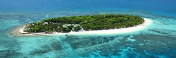 Castaway Island, Aerial View