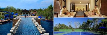 Centara Seaview Resort Khao Lak, Pool, Spa and Tennis Courts
