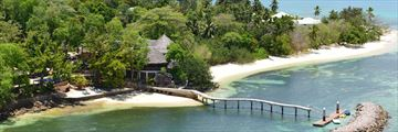 Cerf Island Resort, Aerial View of Resort