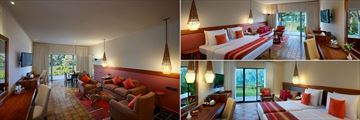 Cinnamon Citadel Kandy, (clockwise from left): Suite Sitting Room, Deluxe Room and Superior Room