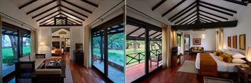 Cinnamon Lodge Habarana, Banyan Suite and Cedar Suite Bedroom
