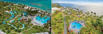 Coconut Bay Beach Resort & Spa, Aerial Views of Waterpark and Splash Pool and Harmony Pool