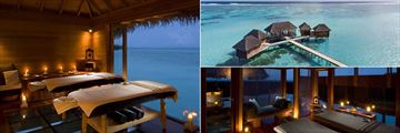 Overwater Spa at Conrad Maldives Rangali Island