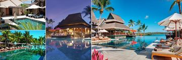U-Spa by Constance Pool, Lap Pool, Pool at Night and Main Pool at Constance Prince Maurice
