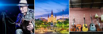 Country Music Concert, St. Louis Cathedral & New Orleans' Music Scene