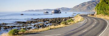 Coastal roads in New Zealand