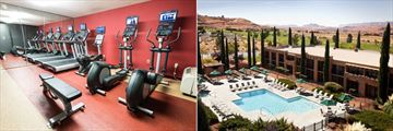 Courtyards by Marriott at Lake Powell - Page, Fitness Centre and Outdoor Pool