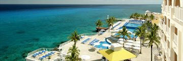 Cozumel Palace, Aerial Views of the Resort, Pool and Sea