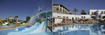 Waterpark and Pithos pool at Creta Maris Beach Resort