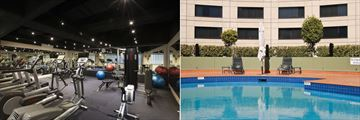 Fitness Centre and Pool at Crowne Plaza Melbourne