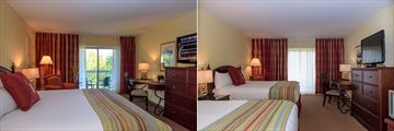 Pavilion Queen Room and Pavilion Double Room at Deerhurst Resort