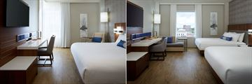 King Guest Room and Double Queen Guest Room at Delta Hotels by Marriott Trois Rivieres