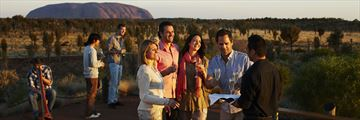 Dining by Ayers Rock