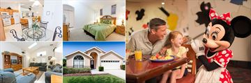 Disney Area Executive Homes, and character dining at Chef Mickey's (copyright: Walt Disney World)