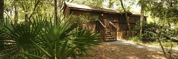 Disney's Fort Wilderness Resort & Campground, Cabin Exterior