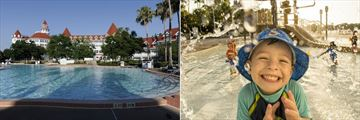 Pool and Kids Pool Area at Disney's Grand Floridian Resort & Spa
