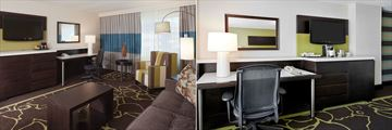 DoubleTree by Hilton Hotel Charlotte, Suite and Working Area