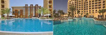 Pool at DoubleTree by Hilton Resort & Spa, Marjan Island