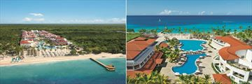 Dreams Dominicus La Romana, Aerial View of Resort and Main Pool