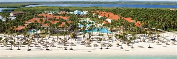 Aerial View of Dreams Palm Beach Punta Cana