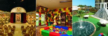Dreams Riviera Cancun Resort & Spa, Explorers' Club Theatre, Toddlers' Area and Outdoor Area