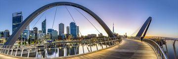 Elizabeth Quay Bridge, Perth