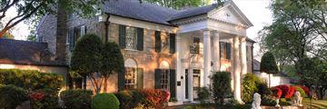 Elvis' Graceland in Memphis, Tennessee