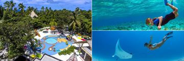 Dolphin Kid's Club and scuba diving at Emerald Maldives