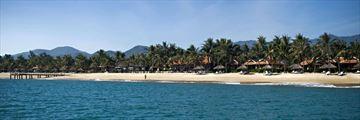 Evason Ana Mandara Nha Trang, Resort from Beach