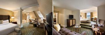 Fairmont Banff Springs, Rundle Junior Suite and Junior Mountain View Suite