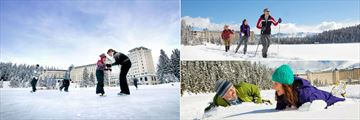 Fairmont Chateau Lake Louise, Winter Activities