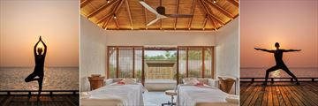 Fairmont Maldives, Wellness and Spa