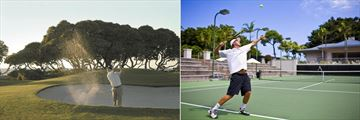 Golf and Tennis at the Fairmont Orchid