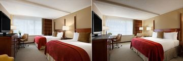 Fairmont Winnipeg, Double Room and King Room
