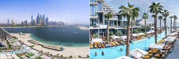 Five Palm Jumeirah Dubai, Aerial View of Resort and Resort Pool