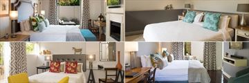Four Rosmead, Deluxe and Luxury Rooms