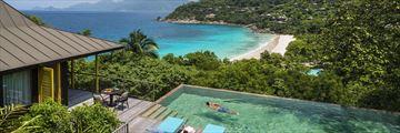 Four Seasons Resort Seychelles, Two Bedroom Ocean View Suite Views