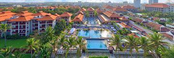 Furama Resort, Aerial View of Resort