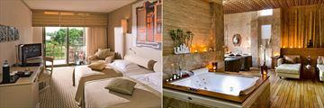 Standard Room and Spa Suite at Gloria Golf Resort