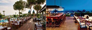 Bazilika and Neptuno Bar at Gloria Verde Resort