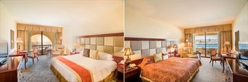Guestroom and Deluxe Room at Grand Hotel Excelsior