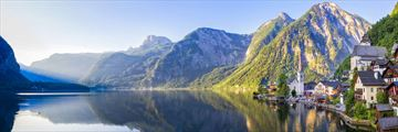 Hallstatt Village and Hallstatter Sea Lake, Austria