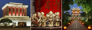 Hanoi museums, water puppets & temple
