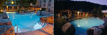 Harrison Hot Springs Resort & Spa, Family Pool and Adult Pool