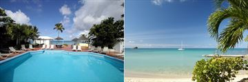 Pool and Beach at Hawksbill by Rex Resorts