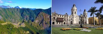 Machu Picchu and architecture in Lima