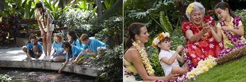 Camp Kids and Lei Making at Hilton Hawaiian Village Waikiki Beach Resort