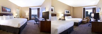 Hilton Saint John, King Room and Two Queen Room