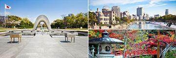 Hiroshima Peace Memorial, Genbaku Dome & Miyajima