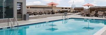 Rooftop Pool at Holiday Inn Capitol